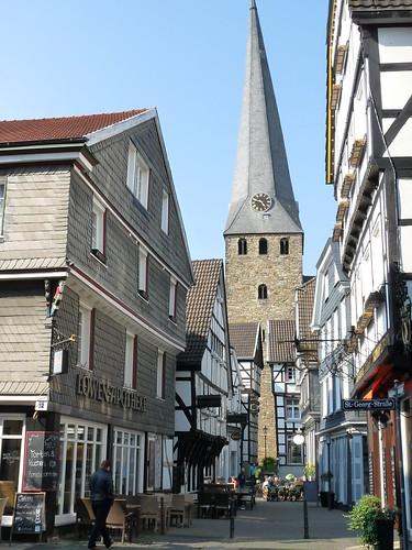 Hattingen - schiefer Turm von St. Georg