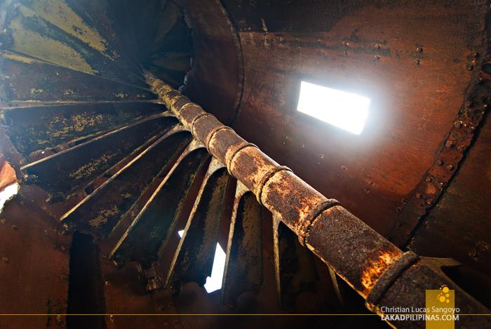 Inside the Guisi Lighthouse in Guimaras