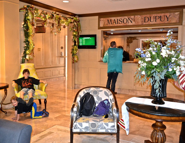 Maison Dupuy Hotel - lobby