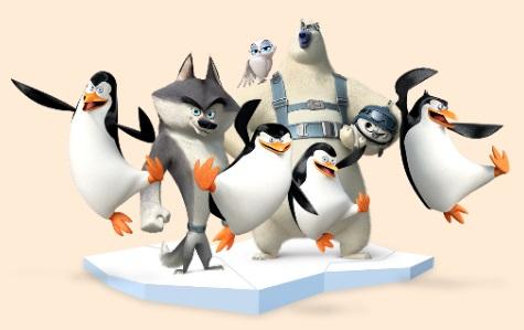 Los Pingüinos de Madagascar, de Twentieth Century Fox