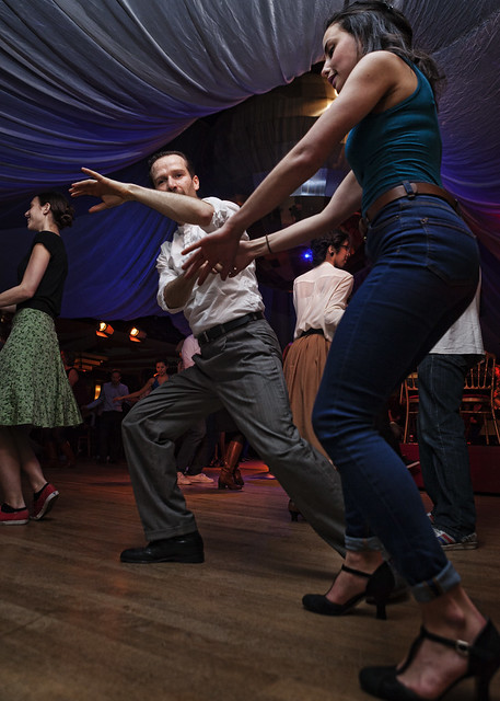 Lindy hop at the chalet du parc in paris flickr photo sharing - The dancing chalet ...