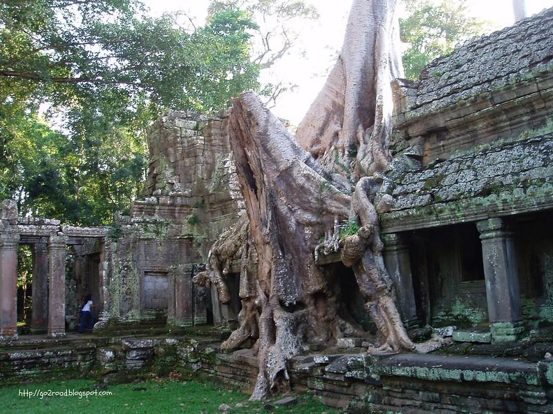 Пре Кан в Ангкоре