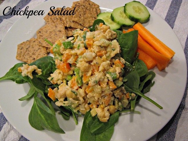 Perfect Chickpea Salad