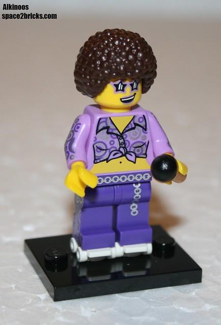 Lego Minifig série 13 Disco Diva p1