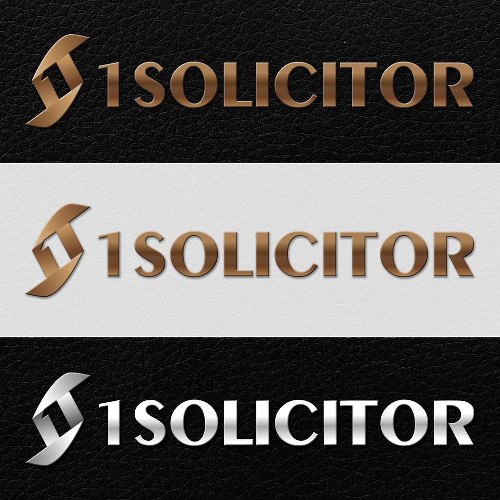 1Solicitor logóterv