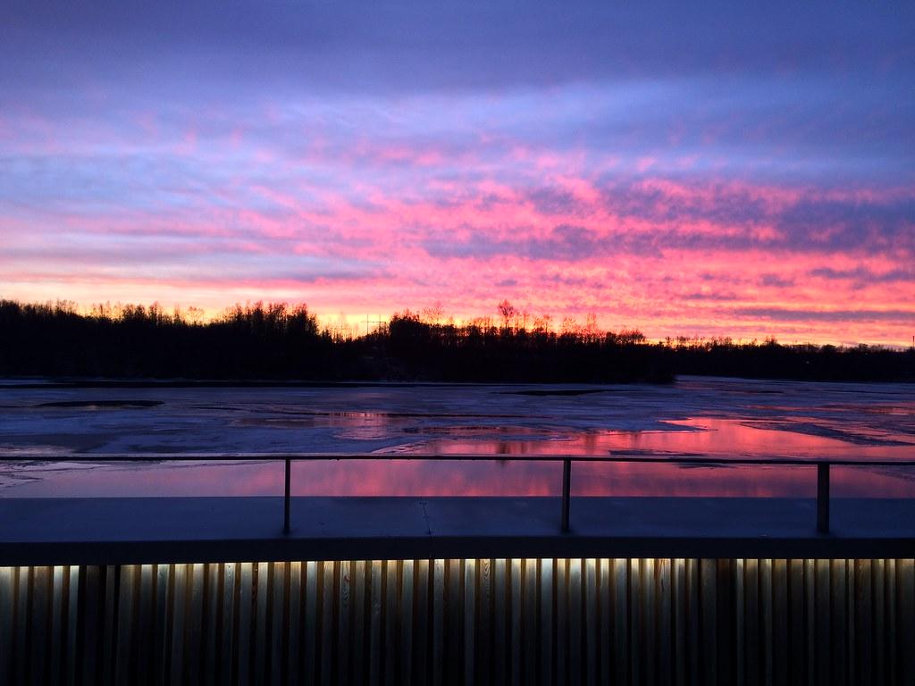 Sunset - O por-do-sol mais bonito que já vi