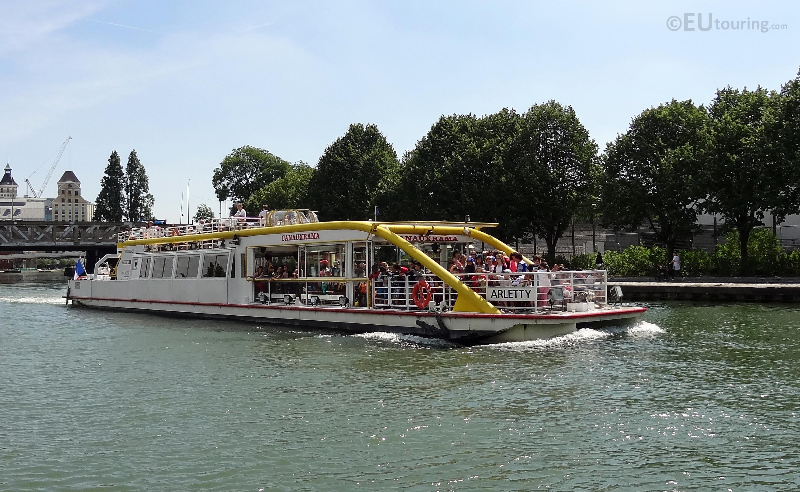 Canauxrama cruise boat