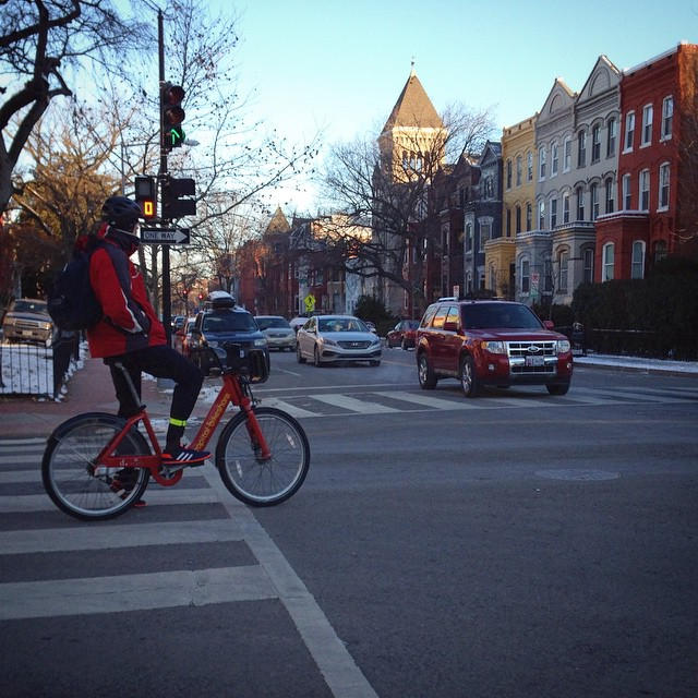Bikeshare don't mind the cold #bikedc #igdc