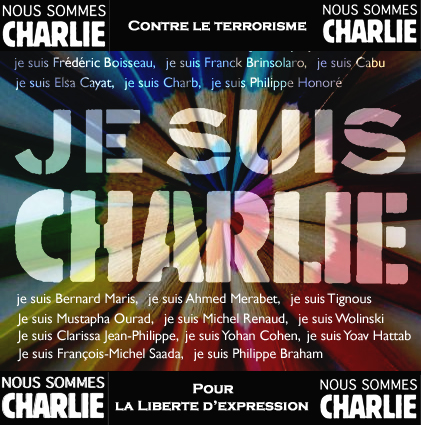 Je suis Charlie, Nous sommes tous Charlie - I am Charlie, We are all Charlie