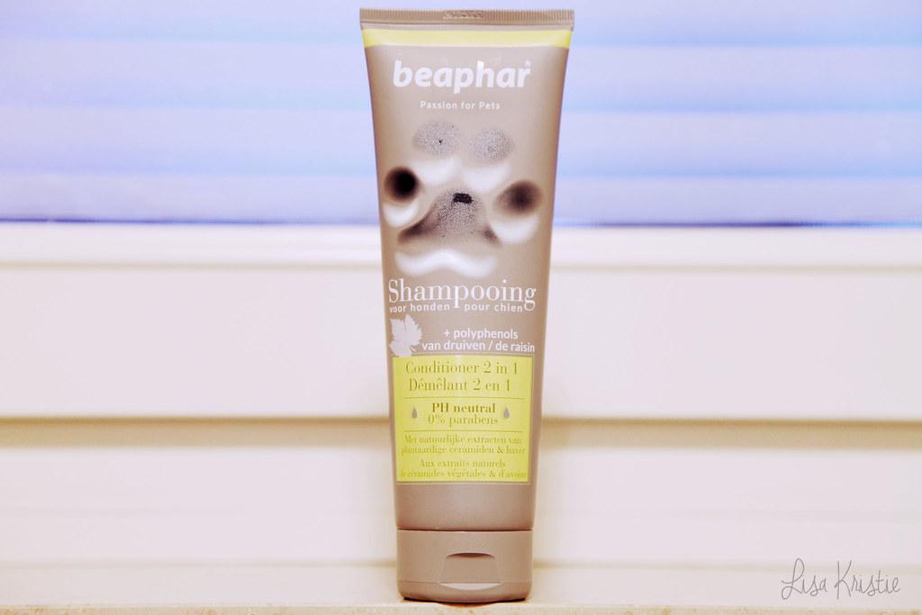 beaphar dog pet shampoo conditioner 2in1 2 in 1 made in belgium europe european shampoo