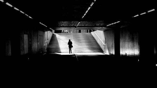 Wil, SG. TrainStation Underground!  DMC-G6 Leica Summilux