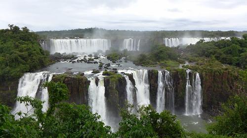 Cascate di Iguaçu sul lato brasiliano