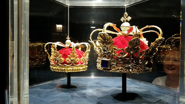 My crown and Dale's crown in Rosenborg slot, Copenhagen