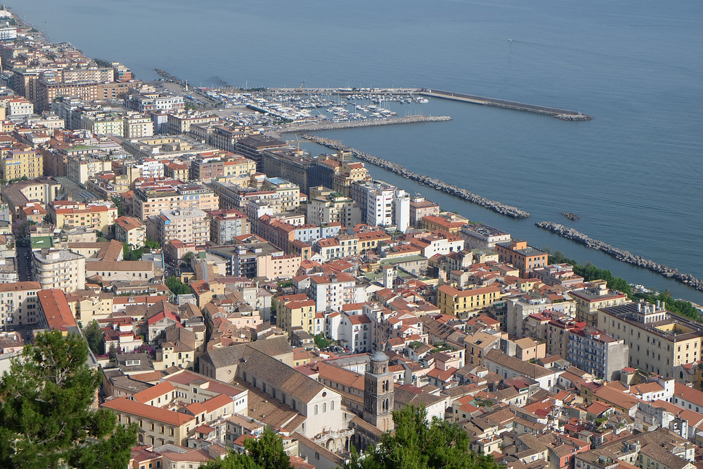 Salerno italy around guides for B b portanova salerno