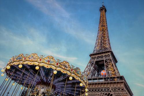 Carrousel de la Tour Eiffel, Paris, 2016
