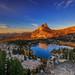 Golden Light @ Cathedral Lake , Yosemite by Liping Photo