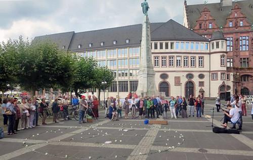 Hiroshima-Tag in Frankfurt/Main 2016