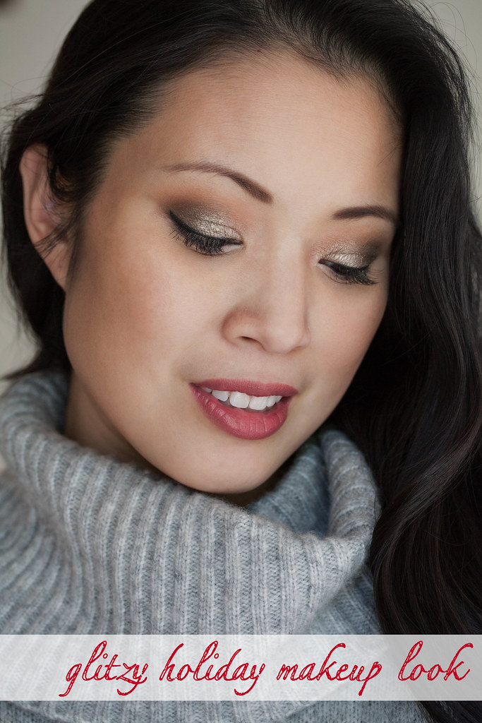 cute & little blog | MAC Holiday 2014 Objects of Affection FOTD makeup look - Glitzy Holiday Makeup Look by Dallas style blogger cute & little