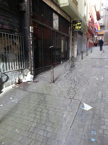 Suciedad en la calle