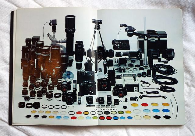 Canon F-1 システムの展開と使い方