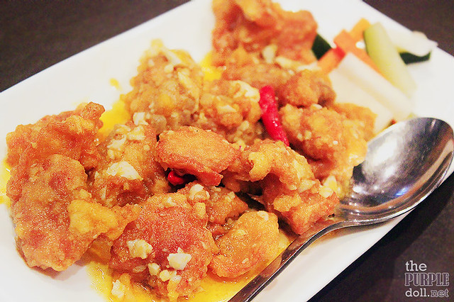 Salted Egg Chinese-Style Fried Chicken (P295)