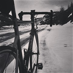 Memories of Mordor #ferriveloci #steel #ridethewinter #mountains #maybewrongvallley #menridesteel #columbus #campagnolo