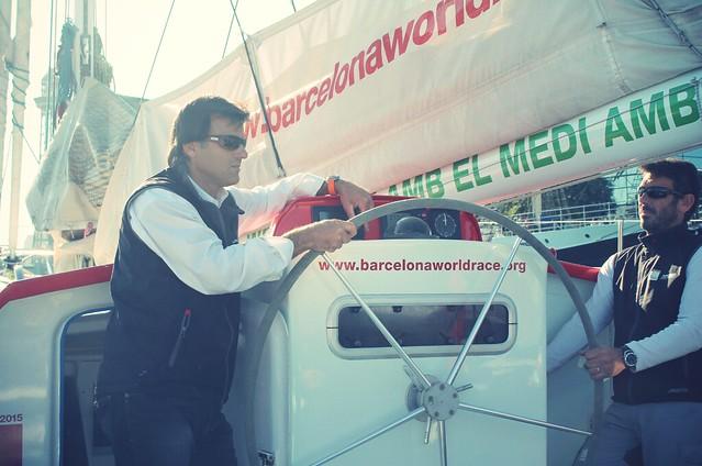 Twingo y Barcelona World Race