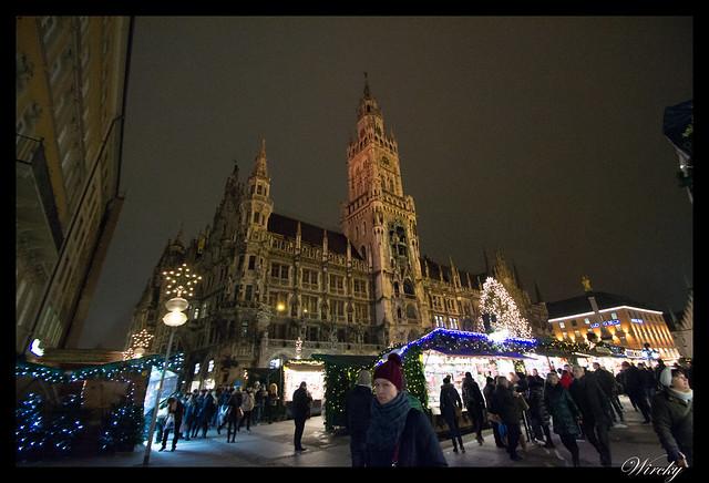 Visita a los mercados de Navidad de Munich