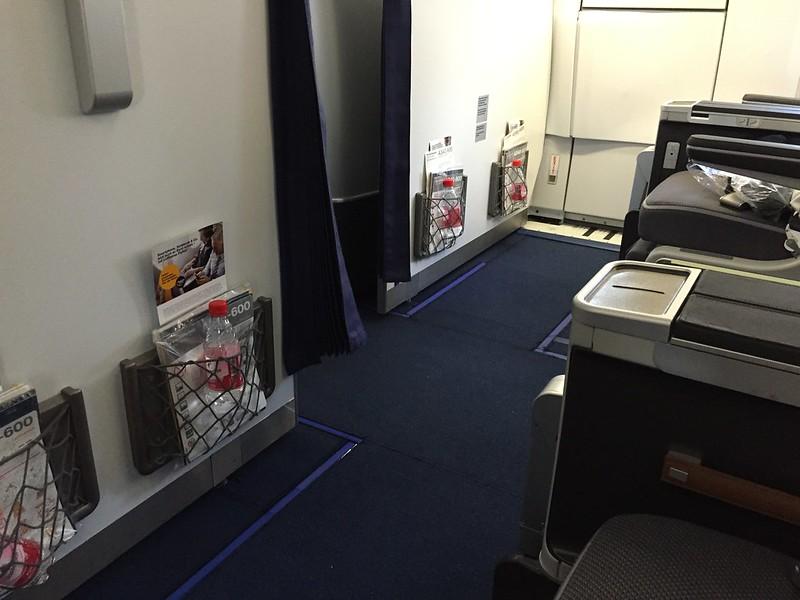 Lufthansa A380 First Class cabin