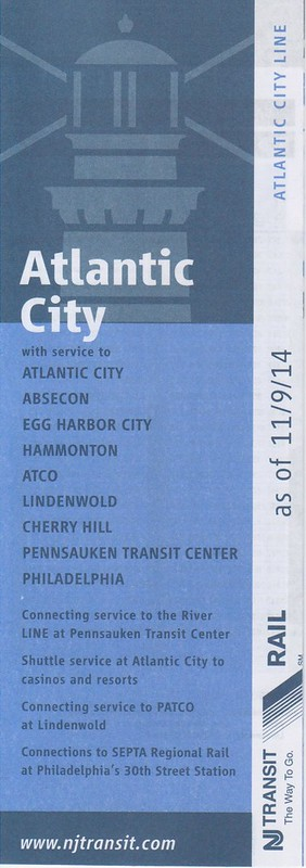 NJ Transit Atlantic City Line 11-14