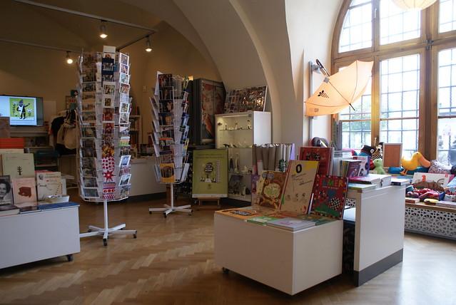 Boutique du musée Kamienica Szolayskich à Cracovie