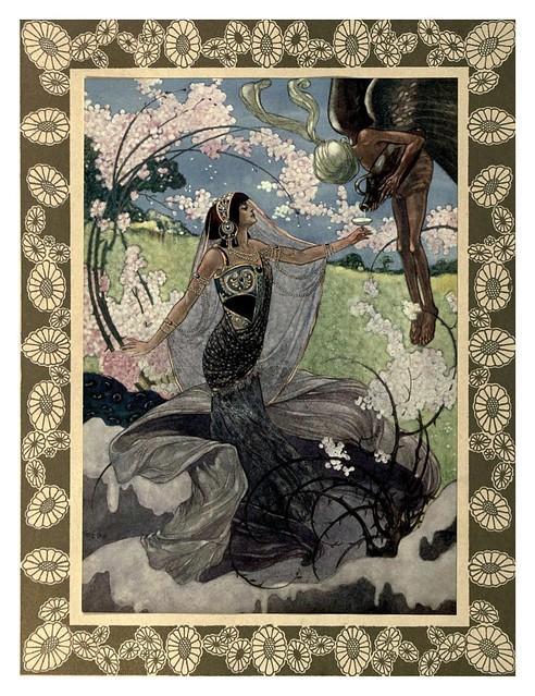 001-Rubáiyát of Omar Khayyám-1913- Ilustrado por René Bull
