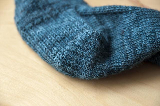 reinforced sock heel