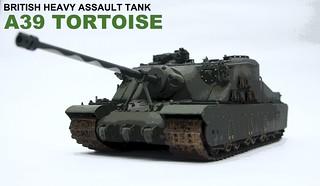 【玩具人'范姜吉姆'投稿】A39土龜重型突擊戰車