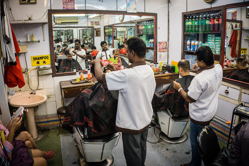 Stylo Indian barber Kuala Lumpur - interior