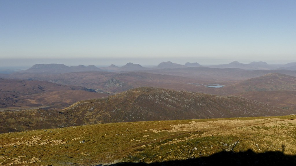 Assynt from Seana Bhraigh