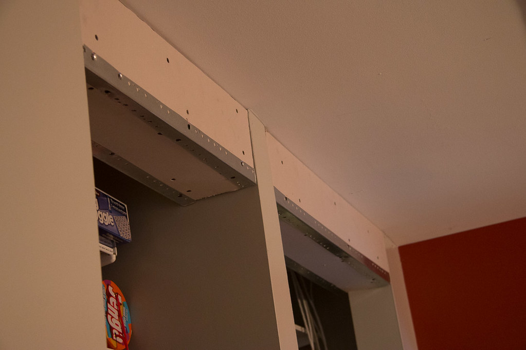 Attaching drywall to new framing