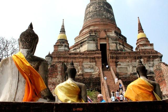 Como é o bate e volta a Ayutthaya - Tailandia