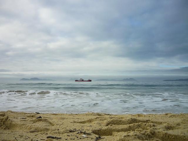 Cloudy day in Vigo