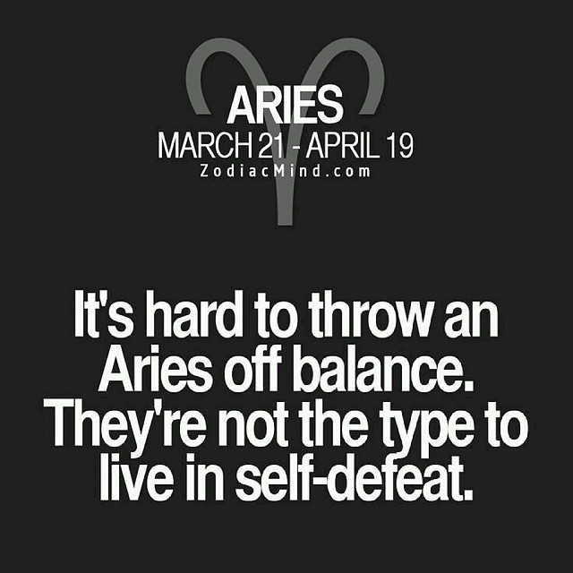 Any Doubt Aries Astrology Zodiac Sign Traits Person Flickr