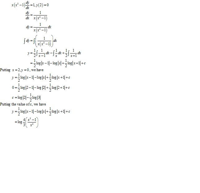 RD Sharma Class 12 Solutions Chapter 22 Differential Equations Ex 22.5 Q26