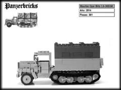 Maultier Opel Blitz de Panzerbricks