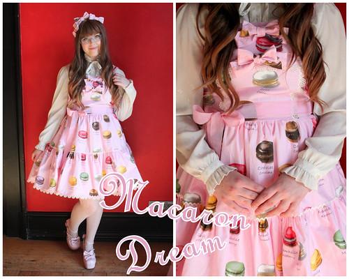 Renske in Macaron Dream