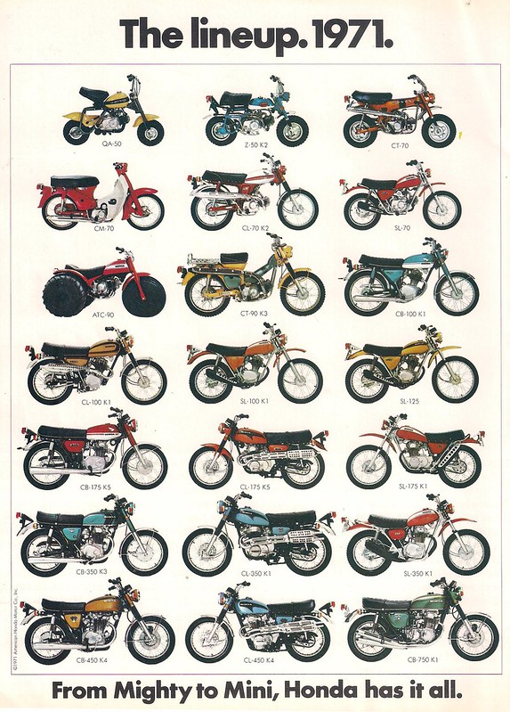 The 520 Chain Cafe Honda 1971