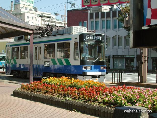 熊本市電熊本駅前 2002 年