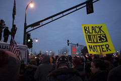 Solidarity rally and march for Michael Brown in response to the Furguson grand jury decision