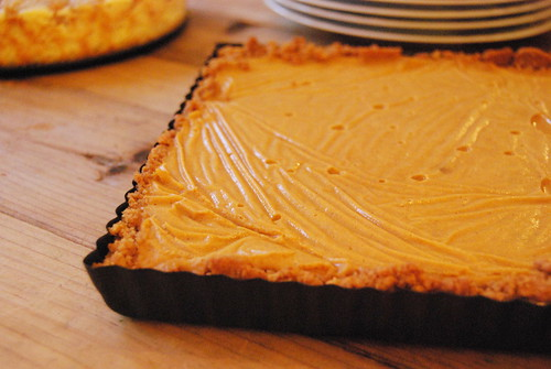 Thanksgiving - Pumpkin Banana Mousse Tart-001