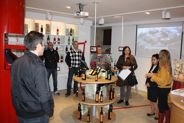 Visita de la Asociación de Empresarios Salmantinos de Panaderías al CIG
