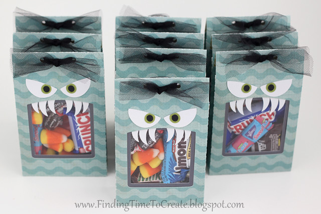 Monster treat bags - group