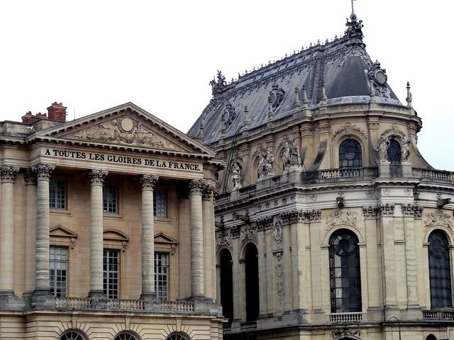 A toutes les gloires de la France, Chateau de Versailles